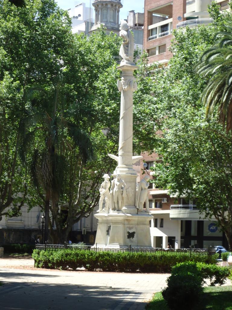 Plaza 25 de Mayo, Rosario Argentina