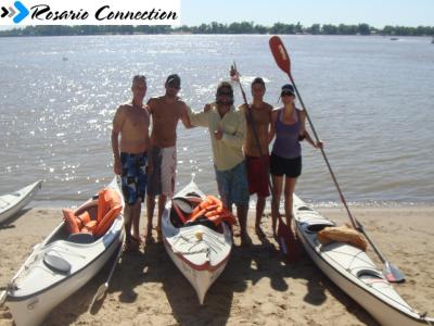 kayak en Rosario