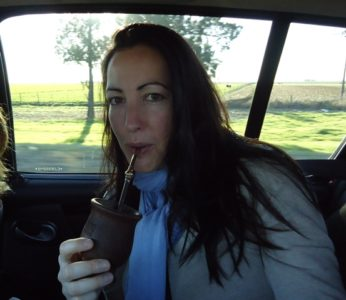 drinking mate in argentina