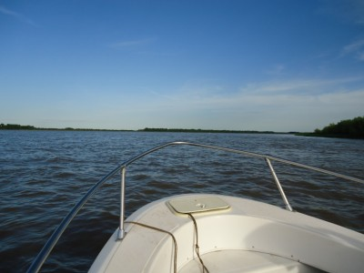 Boat ride on the Parana River