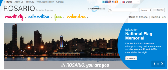Rosario official tourism board